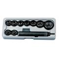 Probijač-Lohajzl 5-32mm 9-dijelni Fervi 0081