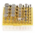 Set Dijamantnih Bruseva 3mm 50-dijelni Fervi D050