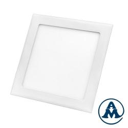 Led lampa stropna ugradbena 18W kvadratna 224X224mm