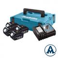 Makita Set Baterija i Punjač Li-ion 4x18 V 3,0Ah BL1830 + DC18RC | 197954-1