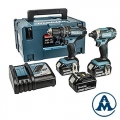 Set Makita DLX2131JX1 Li-ion 3x18V 3,0Ah