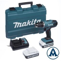 Bušilica-odvijač Aku DF457DWE Makita Li-ion 2x18V 1,3Ah 10mm 42Nm 1,7kg