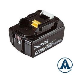 Baterija Makita Li-ion 18V 6,0Ah BL1860B Indikator
