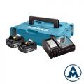Set Baterija i Punjač | LXT Makita Li-ion 2x18 V 3,0Ah BL1830B + DC18RC | 197952-5