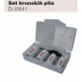 Makita Set Kruna Bi-Metal s Adapterom D-33641