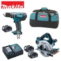 Makita Lxt set DLX2084M 18V