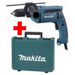Makita Udarna Bušilica HP1641K Samostezna 680W 13mm + Kofer