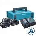 Makita Set Baterija i Punjač Li-ion 3x18V 4.0Ah BL1840 + DC18RC + Makpac | 197495-7