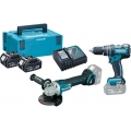 Makita Set Alata DLX2126TJ1 18V