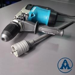 Makita Bušaći Čekić HR4002 + SET Adapter 450mm Centrir i Kruna 55mm