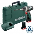 Metabo Aku Odvijač Powermaxx BS Basic Li-ion 2x10,8V 2,0Ah 34Nm