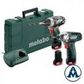 Metabo Aku SetPowerMaxx BS + SSD Li-ion 3x10,8V 2,0Ah