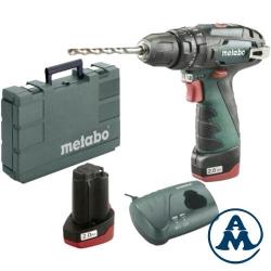 Metabo Aku Odvijač Powermaxx SB Basic Li-ion 2x10,8V 2,0Ah 34Nm