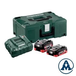 Metabo Set Baterija Li-HD 18V 4,0Ah 5,5Ah + Punjač ASC55