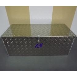 Sanduk Metalni s Poklopcem 1200x450x500mm Alu