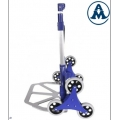 Transportna kolica rudle za stepenice aluminijska sklopivaTKA004