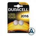 Baterija Duracell DL 2016 3V Lithium BL2