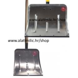 Lopata za Snijeg L3 Metalna Aluminijska nasađena