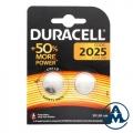 Baterija Duracell DL 2025 3V Lithium BL2