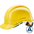 Zaštitna Kaciga Radna Žuta s Vezicom