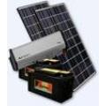 Solarna centrala Large panel 110 W u setu regulator, pretvarač 220V 1200W i akomulator 160Ah