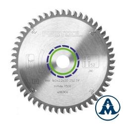 List Kružne Pile 160x20x2,2mm 52Z aluminij/plexi Festool