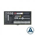 "Set Nasadnih Ključeva 1/4"" 4-14mm PX23070 39/1 Proxxon"