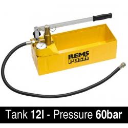REMS ručna pumpa za ispitivanje tlaka u cijevima Push