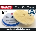 Disk polirni meki krzno 150 - 180  Rupes