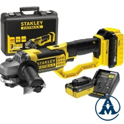 Stanley Aku Kutna Brusilica FMC761M2 Fatmax Li-ion 2x18V 4,0Ah 125mm