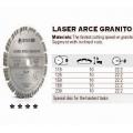 Stayer Dijamantna Rezna Ploča 125 segment suho Laser Granit