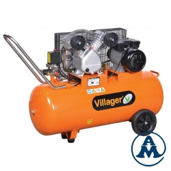 Villager Kompresor Klipni VAT VE-100L 330l/min 100l 8bar 2,2kW/3,0KS 220V