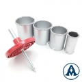 Set Kruna HM Keramika | Cigla | Beton 4-dijelna 33/53/67/73mm AMGDR32 | ZW-F0244