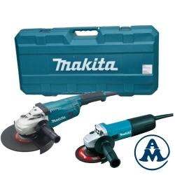 Makita Set Kutne Brusilice DK0053G (GA9020 + 9558HNRG) + Kofer