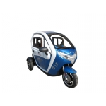 Elektro Tricikl na Baterije s Kabinom T414 1500W 72V 20Ah