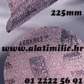 Brusna mrežica čičak 225mm K120 za Žirafu