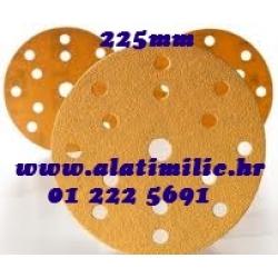 Brusni papir čičak 225mm K100 gold Mirka za Žirafu