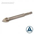 Svrdlo Za Staklo/keramiku 6 mm 1/4'' Silverline 128963